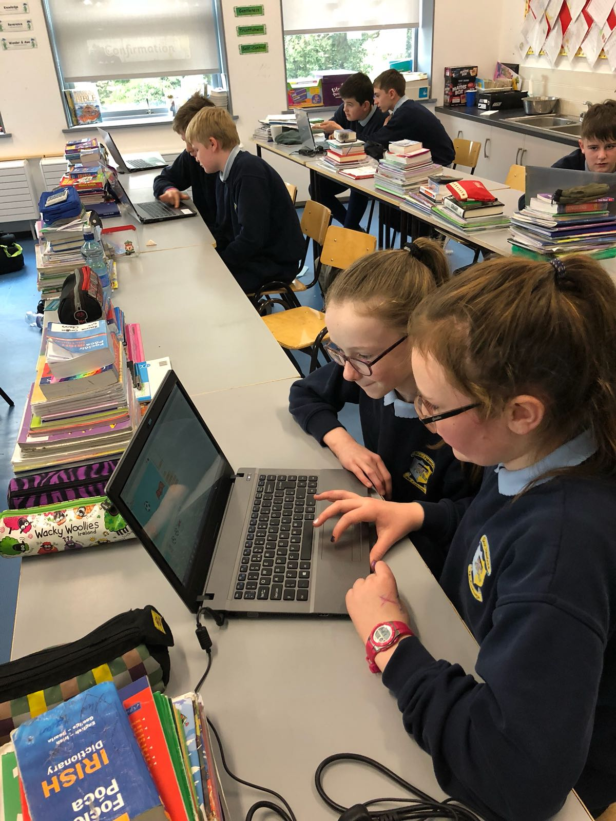 Coding with Scratch in 6th Class