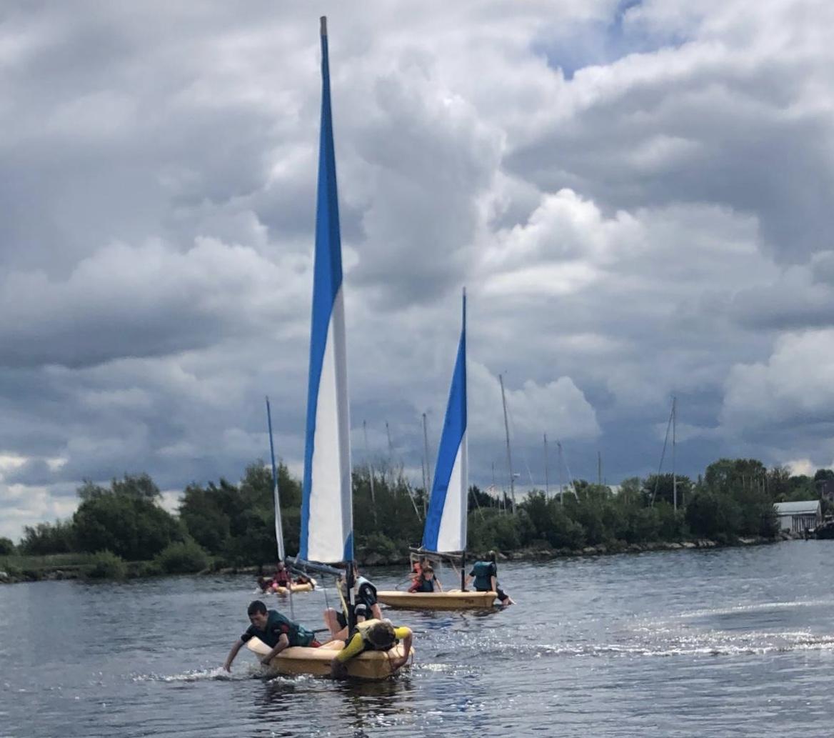 Sailing! ⛵️